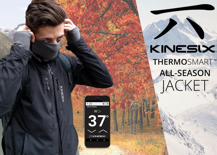 Heated Smartphone-Connected Jackets