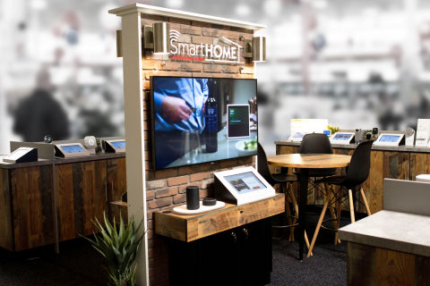 In-Store Smart Home Displays