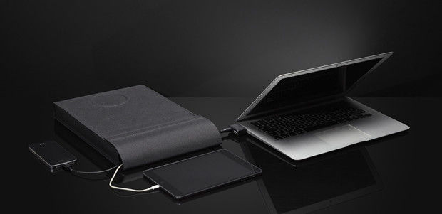 Device-Charging Laptop Sleeves