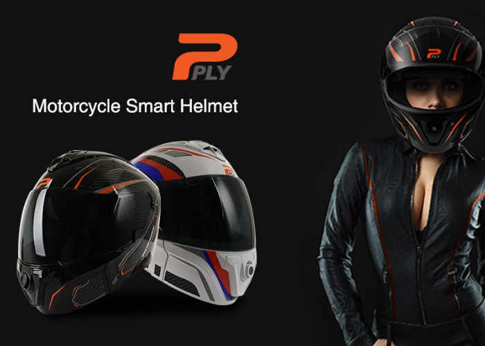 Connected Motorcycle Helmets