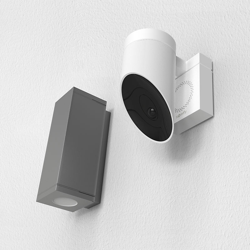 Motion-Sensing Outdoor Surveilance