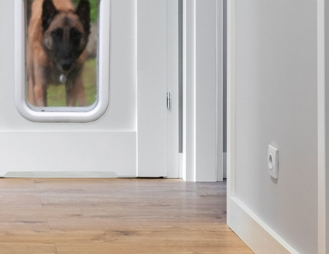 Connected Smart Pet Doors