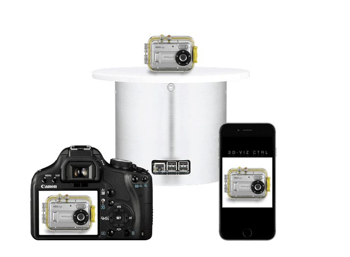 Smart Photography Turntables