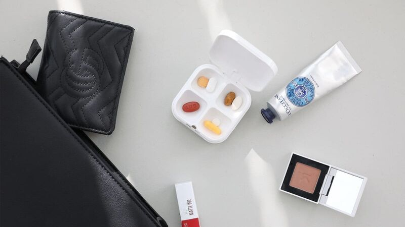 Medication-Tracking Pill Containers