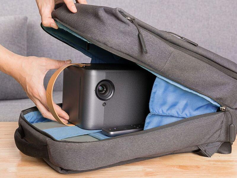 Optimized Portable Projectors