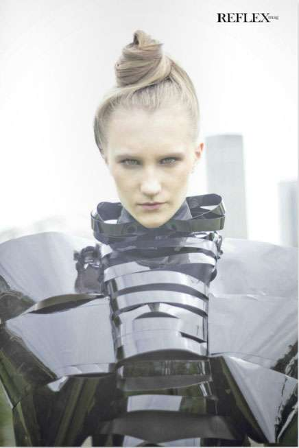Angular Futuristic Fashions