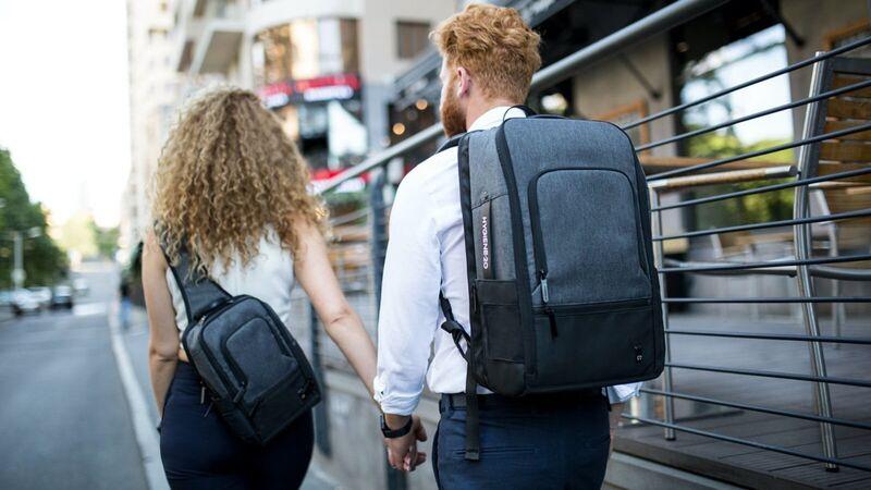 Gear-Sanitizing Backpacks
