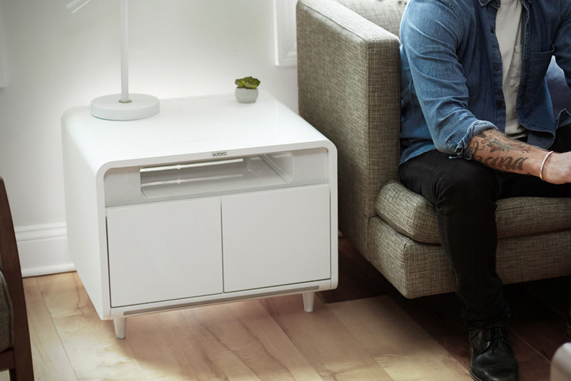 Connected Technology Side Tables Smart Side Table