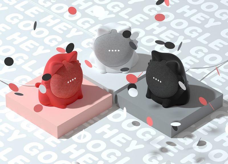 Feline Smart Speaker Mounts