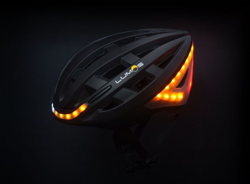 Illuminating Cycling Helmets