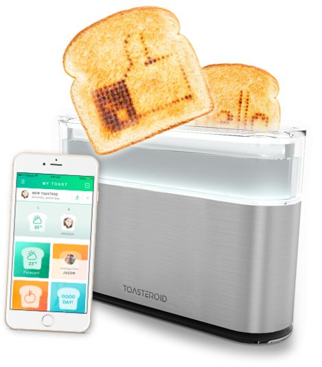 Message-Engraving Toasters