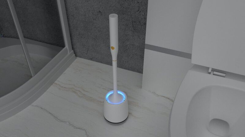 Powered Bathroom Cleaning Devices