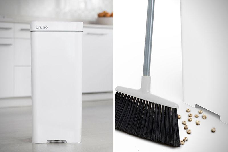 Vacuum Trash Cans