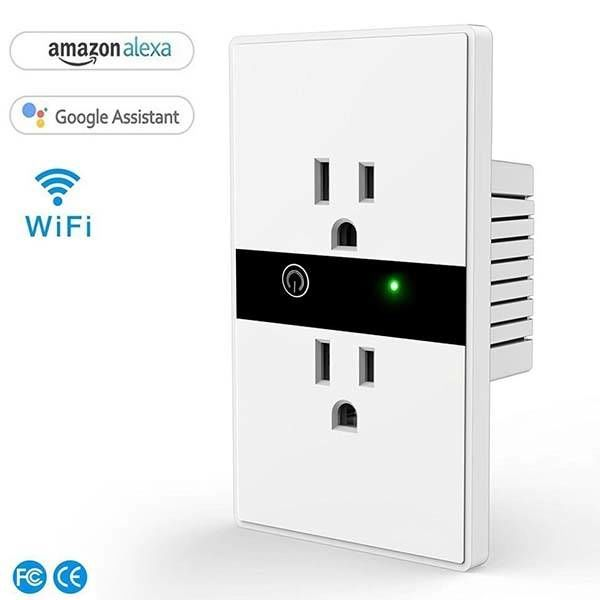 Hardwired Voice Assistant Outlets : smart wall outlet