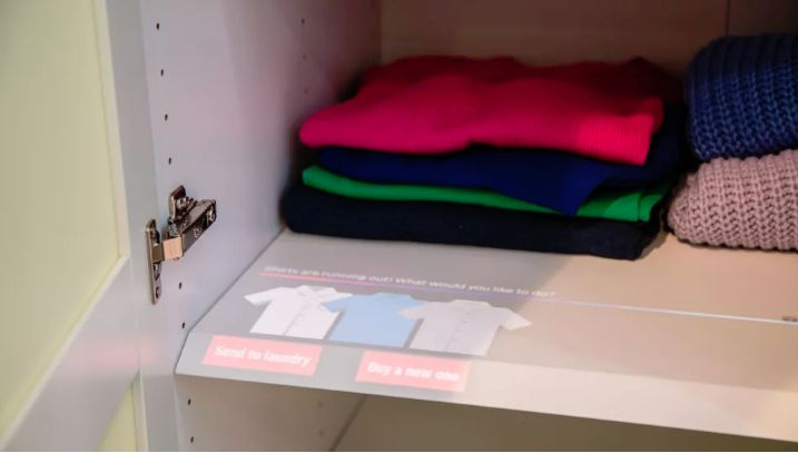 Closet-Enhancing Interactive Touch Screens