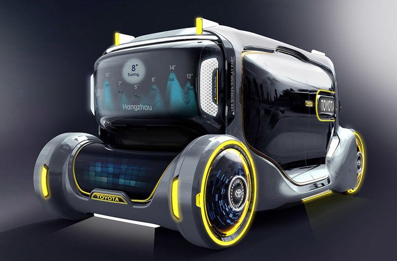 Conceptual Futuristic Family Vehicles