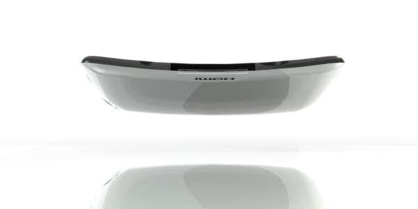 Bowed Concept Cellphones