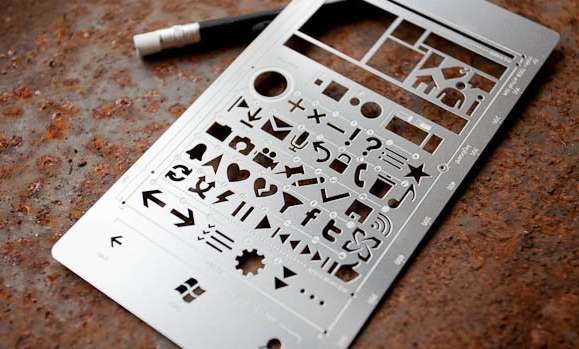 Cellphone-Inspired Stencils