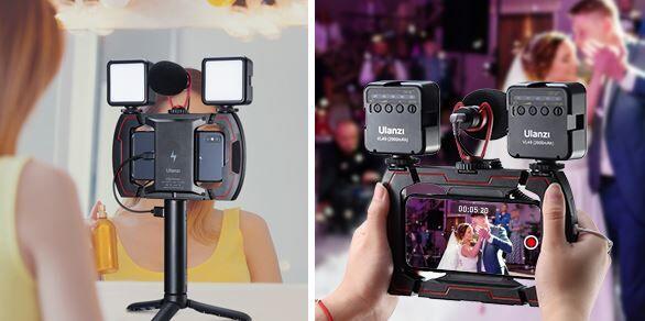 Adaptable Vlogger Video Mounts