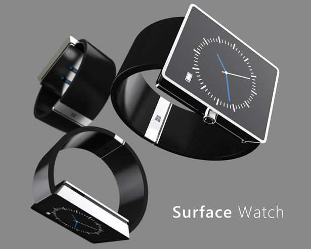Boxy Smartwatch Concepts