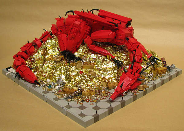 Building Block Fantasy Dragons
