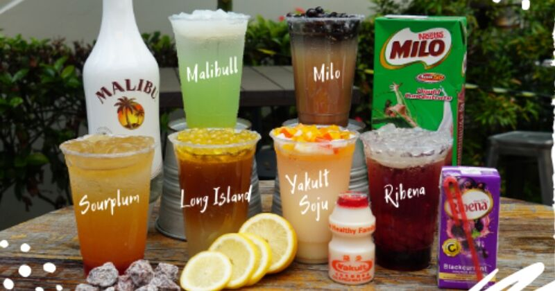 Booze-Infused Boba Menu Expansions