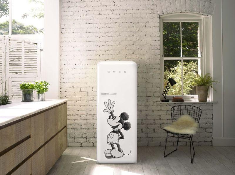 Mickey Mouse-Branded Fridges