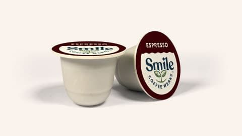 Commercially Compostable Coffee Pods