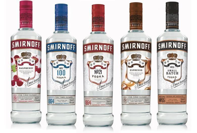 Heritage-Honoring Vodka Branding