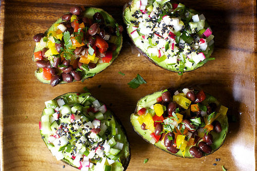 Fruit-Encased Salads