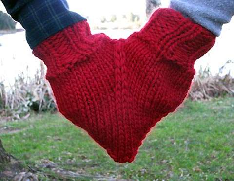 Cute Couples' Mittens