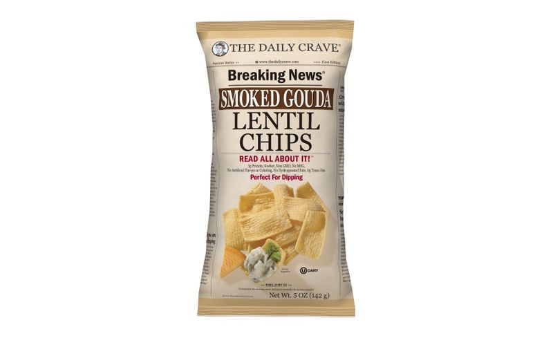 Cheesy Lentil Chips