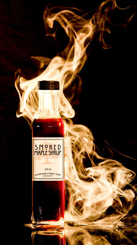 Fiercely Smoked Maple Syrup