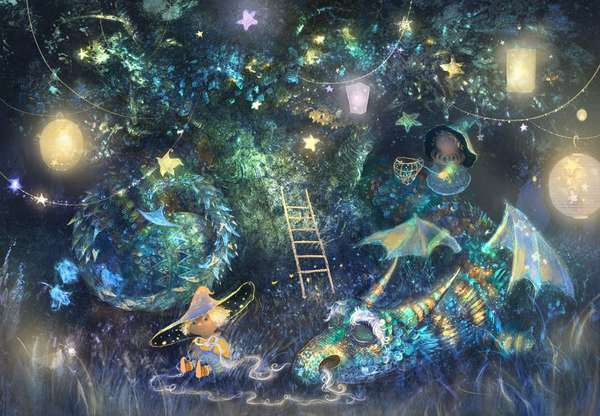 Cosmic Children's Illustrations