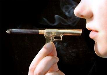 Metaphorical Smoking Accessories