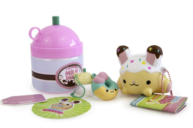 Squishy Food-Themed Collectibles