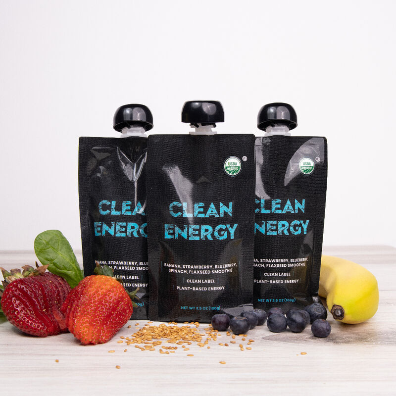 Clean-Label Smoothie Pouches