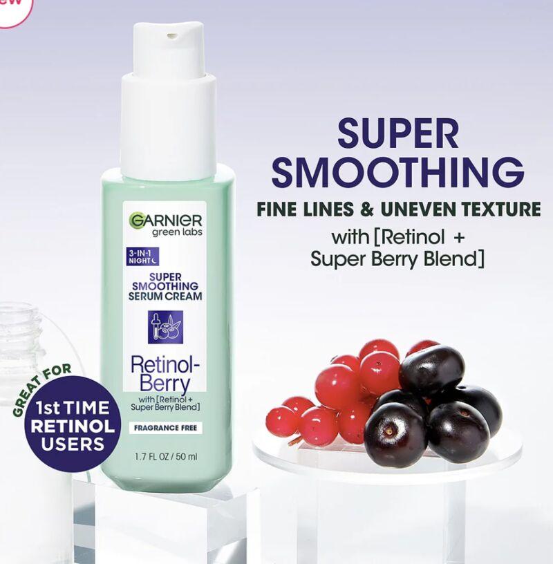 Retinol-Berry Smoothing Night Serums