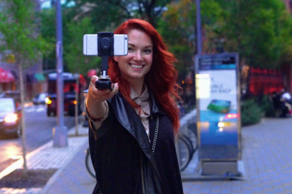 Smartphone-Stabilizing Grips