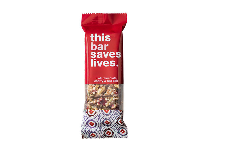Life saving granola bars snack bar packaging for Food bar packaging