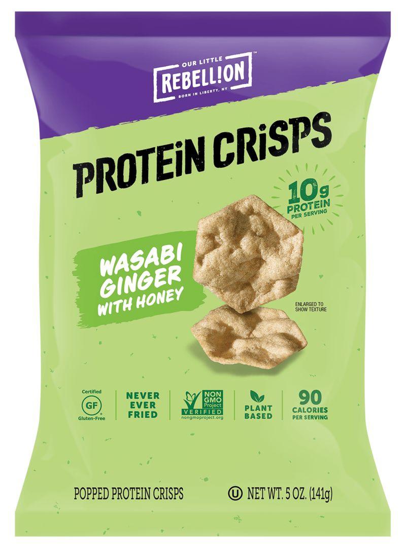 Protein-Rich Snack Crisps