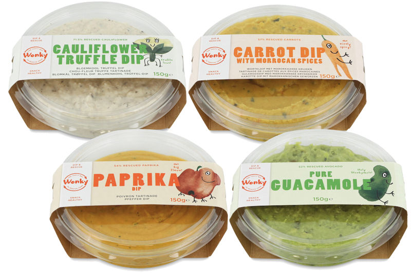 Rescued Produce Dips