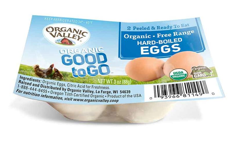 Prepackaged Snack Eggs