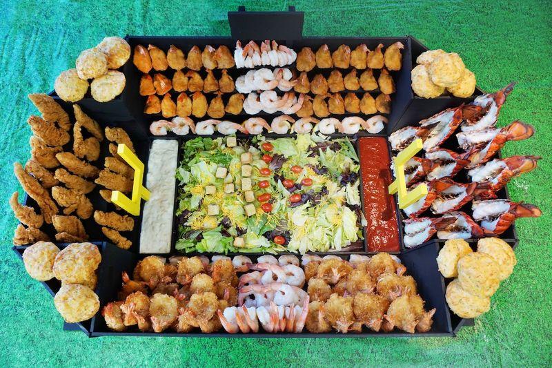 Seafood Snack Stadiums