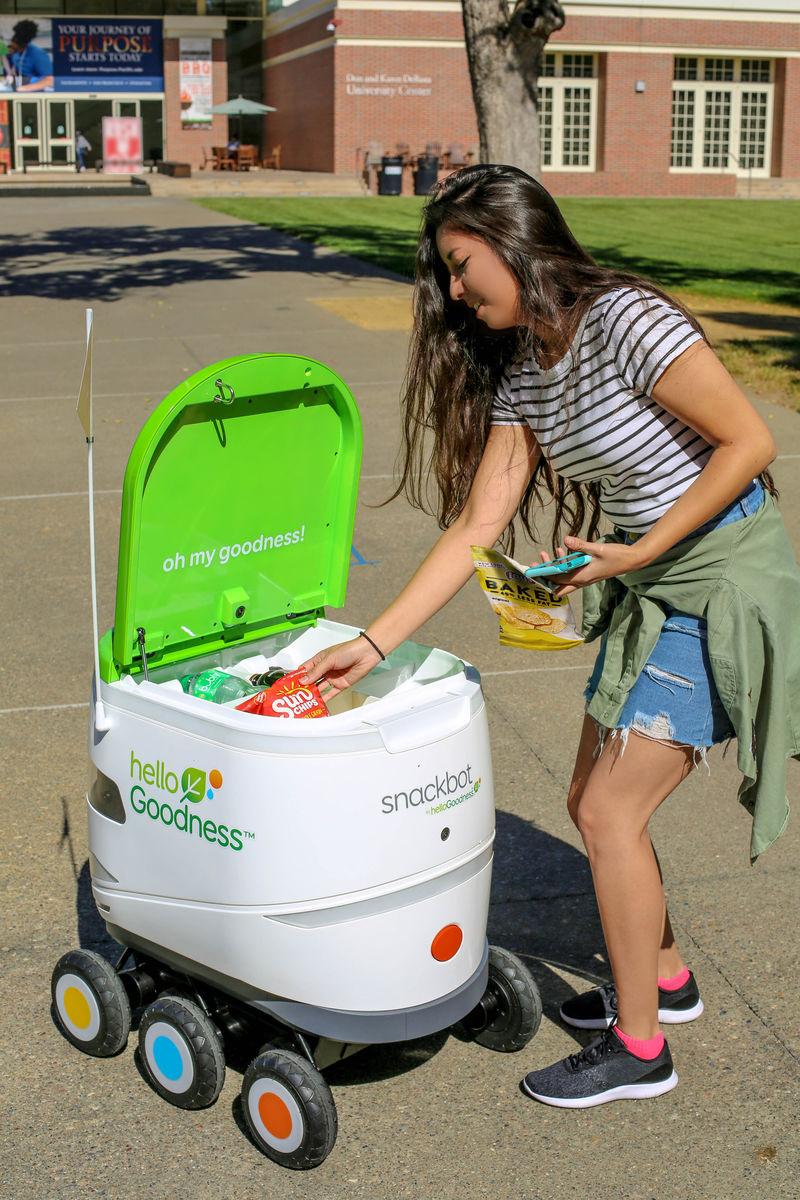 Snack-Sharing Robots
