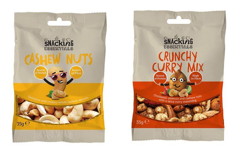 Energizing Prepackaged Snacks