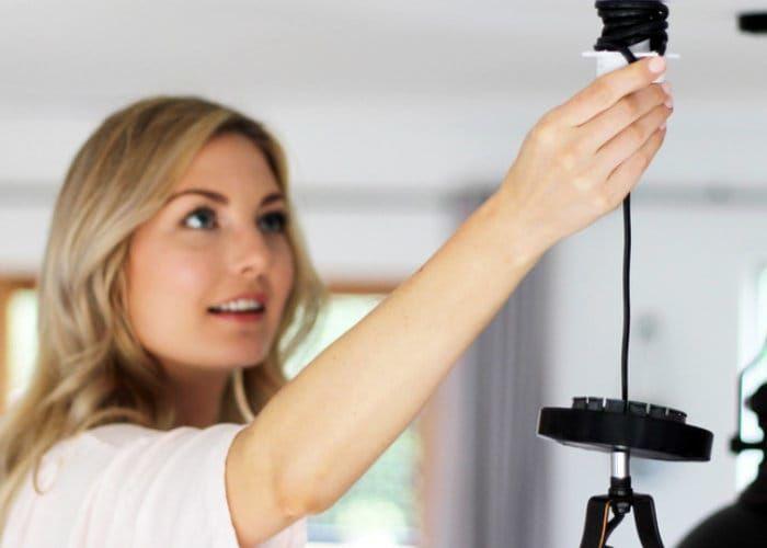 Quick Change Ceiling Illuminators