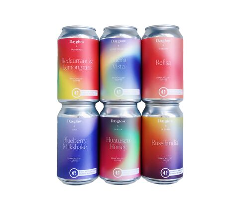 Snapchilled Canned Coffee Collaborations