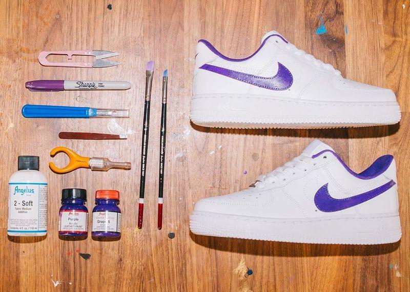DIY Sneaker Customization Kits