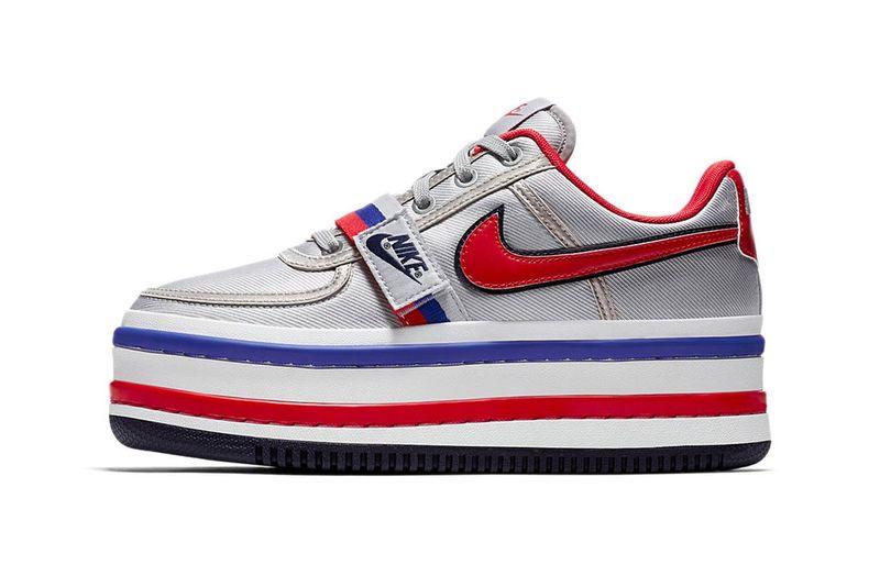 Retro Stacked Sneaker Models